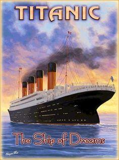 Titanic-Ship-of-Dreams-White-Star-Ocean-Liner-Travel-Advertisement-Poster-Print