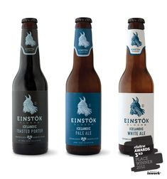 Einstock Icelandic Beer. Any branding that incorporates vikings is awesome.