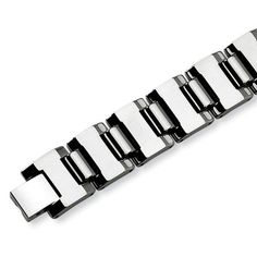 Chisel Polished Tungsten Carbide Bracelet - 8.5 Inches Chisel. $119.95. Save 50% Off!