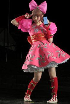 Kyary Pamyu Pamyu~~♥♪♫ Japanese music & fashion icon--!☆★☆ kawaii fashion. . .giant bow. . .costume. . .kawaii