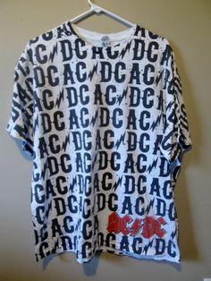 Vintage AC/DC Tour shirt , X-large - Apparel