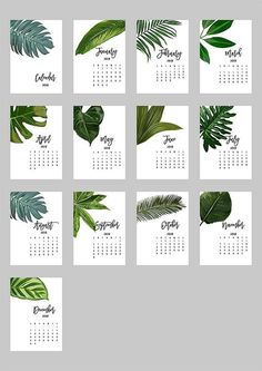 Printable Calendar 2020 2021 Desk Calendar PDF Download