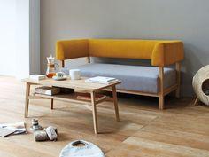 SIEVE howe sofa #interior #sofa #living #yellow