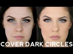 HOW TO COVER DARK CIRCLES & UNDER EYE BAGS USING DRUGSTORE MAKEUP!! - YouTube
