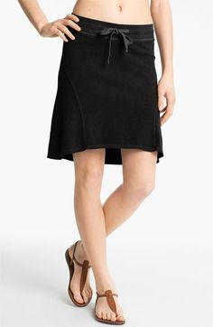 James Perse High/Low Drawstring Skirt available at #Nordstrom