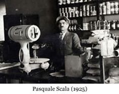 The Original Pasquale Scala back in 1925, supposedly when Italian Beef was introduced for the first time.  You can see more about everything Italian Beef here at www.ITalianBeef.com