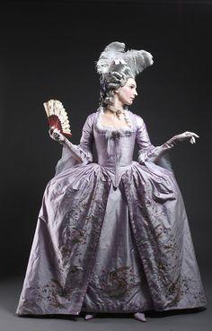 grande robe à la française
