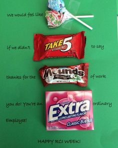 Employee Appreciation Gift - could easily change to teacher appreciation Más Employee Appreciation Messages, Volunteer Appreciation, Employee Gifts, Teacher Appreciation Week, Employee Morale, Gifts For Employees, Pastor Appreciation Ideas, Employee Thank You, Staff Morale
