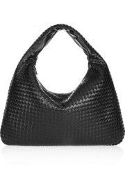 Bottega VenetaMaxi Veneta intrecciato leather shoulder bag