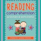 This packet contains 75 generic reading comprehension worksheets that can be used with any book! They are easy to use and easy to print off. The wo...