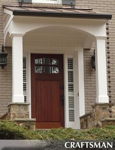 SmallBudget BigImpact Upgrades From Readers Like You - Colonial portico front entrance