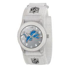 Detroit Lions NFL Kids Rookie Series Watch (White)