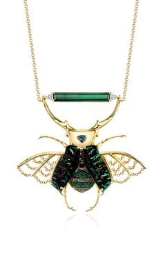 Phoenix Necklace by Daniela Villegas for Preorder on Moda Operandi