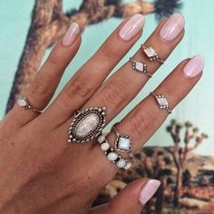 Boho jewelry :: Rings, bracelet, necklace, earrings + flash tattoos :: Bohemian Style :: Silver + Turquoise :: Bronze + Gold Jewellery :: For Gypsy wanderers + Free Spirits :: See more untamed bohemian jewel inspiration @untamedorganica
