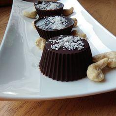Pysznie i Zdrowo: Babeczki czekoladowe z kokosem