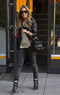 Sylvie Meis, love her boots