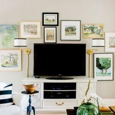 Emily Clark home tour - a gorgeous gallery wall & plenty of beautiful design ideas