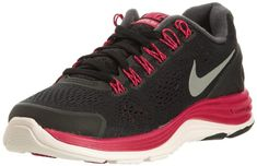 Nike Lunarglide 4 Womens Running Shoes 524978006 Black 95 M US >>> Read more reviews of the product by visiting the link on the image.(This is an Amazon affiliate link and I receive a commission for the sales)