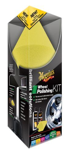 Meguiars G3400 Brilliant Solutions Wheel Polishing Kit ** Check out the image by visiting the link.