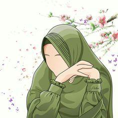 I love hijab . Cute Cartoon Girl, Cartoon Art, Pokemon, Hijab Collection, Hijab Cartoon, Anime Qoutes, Muslim Girls, Islamic Pictures, Islamic Art