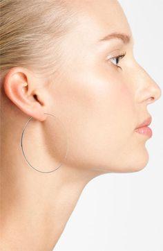 Lana Jewelry 'Large Flat Magic' Hoop Earrings   Nordstrom