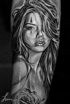 jose lopez tattoos   Jose Lopez and Jun Cha « Lowrider Tattoo Studios
