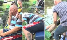They're hooked on booze: Hilarious video of annual drunk fishing competition in Belgium shows exactly why it's a bad idea to mix alcohol and lakes    Read more: http://www.dailymail.co.uk/news/article-3473605/They-hooked-booze-Hilarious-video-annual-drunk-fishing-competition-Belgium-shows-exactly-s-bad-idea-mix-alcohol-lakes.html#ixzz41o4LFmSI  Follow us: @MailOnline on Twitter | DailyMail on Facebook
