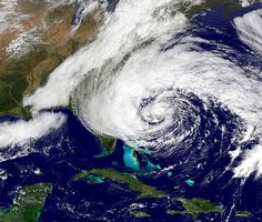 #HurricaneSandy is seen churning towards the east coast of the United States is this NOAA handout satellite image taken on October 27, 2012. Image taken October 27, 2012. REUTERS/NOAA National Hurricane Center