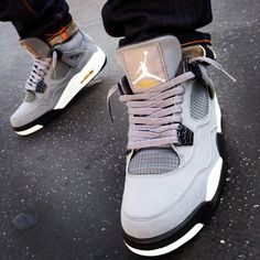 "Favorite pair of 4s, which I regret selling. Air Jordan 4 ""Cool Grey"". For the record, this isn't my photo, I just found it online."