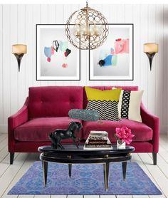 """L'amour"" by yoshigirl28 on Polyvore #interiordesign #livingroom"