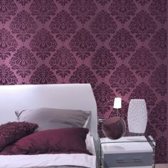 wall_stencil_damask_kerry_sm_-_reusable_stencils_better_than_wallpaper_1bf7ac25.jpg (500×500)