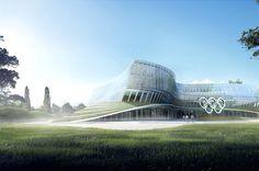 Olympic House | Architect Magazine | 3XN Architects, Lausanne, SWITZERLAND, Office, Modern, Olympics, 3XN, International Olympic Committee (IOC)