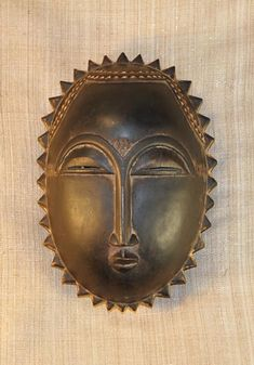 African Masks - Yaure Mask 27 - Front - Click to return to the top of the page.