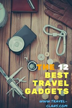 The 12 Best Travel Gadgets and Accessories of 2019 - Travel Clans - The 12 Best Travel Gadgets and Accessories an International Traveler must have - # High Tech Gadgets, Gadgets And Gizmos, Technology Gadgets, Cool Gadgets, Travel With Kids, Family Travel, Best Travel Gadgets, Travel Hacks, Travel Ideas