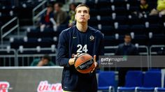 Bogdan Bogdanovic, #13 of Fenerbahce Istanbul warms up prior to the Turkish Airlines Euroleague Basketball Top 16 Round 7 game between Fenerbahce Istanbul v Unicaja Malaga at Ulker Sports Arena on February 11, 2016 in Istanbul, Turkey.
