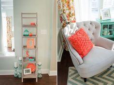 Ideas Farmhouse Living Room Paint Colors Sea Salt For 2019 Bedroom Paint Colors, Paint Colors For Living Room, Bathroom Colors, My Living Room, Living Room Chairs, Living Room Decor, Bedroom Decor, Bedroom Ideas, Paint Colours