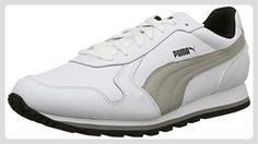 Puma Unisex-Erwachsene St Runner Full L Laufschuhe, 44 EU, Bianco/Limestone Gray, 40 EU - Sneakers für frauen (*Partner-Link)