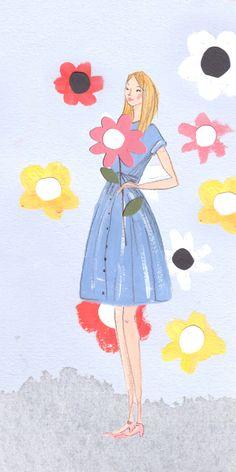 orla kiely emma block illustration