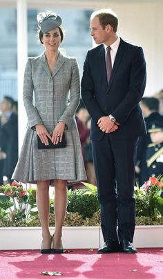Kate Middleton Flies the Flag for British Fashion in Prince of Wales Check