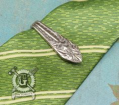 Marquise 1933 Pattern Spoon Money Clip / Tie Clip by doctorgus