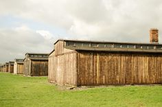 Wooden barracks of the BIIa sector.