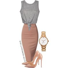 #60 by gypsyroseboutique on Polyvore featuring polyvore fashion style Doublju Christian Louboutin Kate Spade
