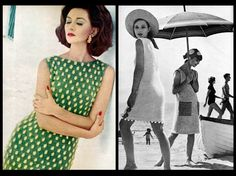 Vintage Vogue 60s Knitting Pattern Book Mod Summer Dresses 1963