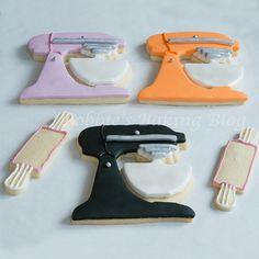 Kitchen Mixer Cookies Tutorial
