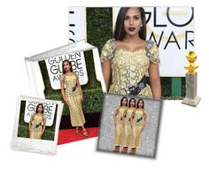 """""""My Best-Dressed: Kerry Washington"""" by belldraw ❤ liked on Polyvore featuring Dolce&Gabbana, Polaroid and dolceandgabbanacouture"""