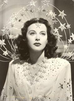 """Starry Tiara, worn by Hedy Lamarr in """"Ziegfield Girl"""", 1941."""