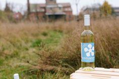 Eine Flasche #Havelwasser steht allein im #Birnengarten in #Ribbeck, wer hat sie wohl dahin gestellt? ;)