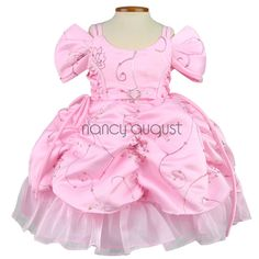 e2b11b24473 Pink At The Ballroom Pick-Up Baby Dress  This pink princess dress is  constructed