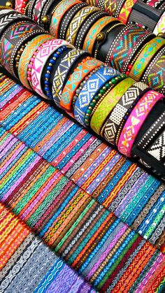 pulseras telar egipcio y caña flecha handmade from colombia...@ipuanabarcelona