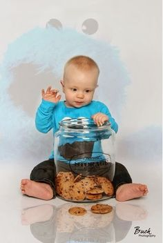 The Cookie Monster! My favorite baby picture